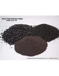 Cát oxit nhôm nâu (Brown Aluminum Oxide)